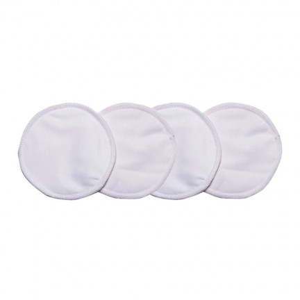 Reuseable Bamboo Cotton Breast Pads (4 pack)