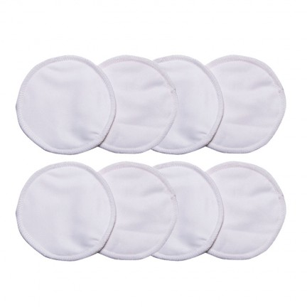 Reuseable Bamboo Cotton Breast Pads (8 pack)