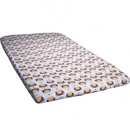 Monkey Baby Mattress Cover