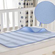 แผ่นรองฉี่ Baby Sabai สีฟ้า 1