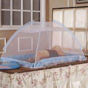 blue-mosquito-net
