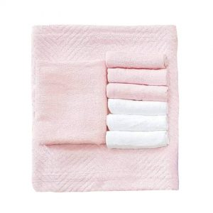 pink-towel-set