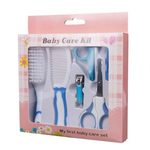 Nail-File-Finger-Toothbrush-Round-Head-Scissors-Baby-Children-Grooming-Set-Nail-Clipper-Hair-Brush-Comb