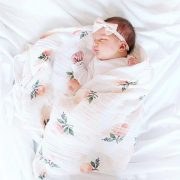 INS-Hot-Baby-Blanket-NewbornSwaddle-120x120cm-Super-Soft-Breathable-Multi-Use-Muslin-Cotton-Wrap-Lemon-Cactus